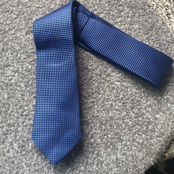30405d7a99 Ermenegildo Zegna Blue Silk Tie - work, weddings